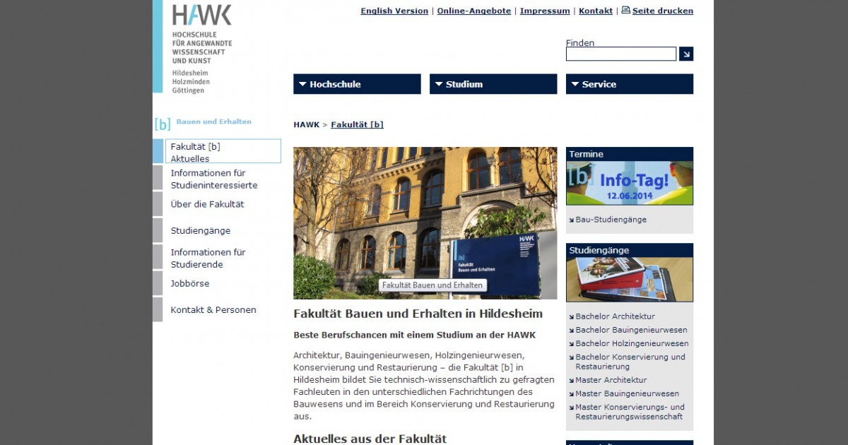 HAWK – Fakultät Bauwesen