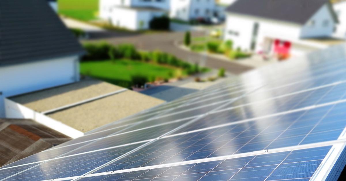 Photovoltaik-Neubau
